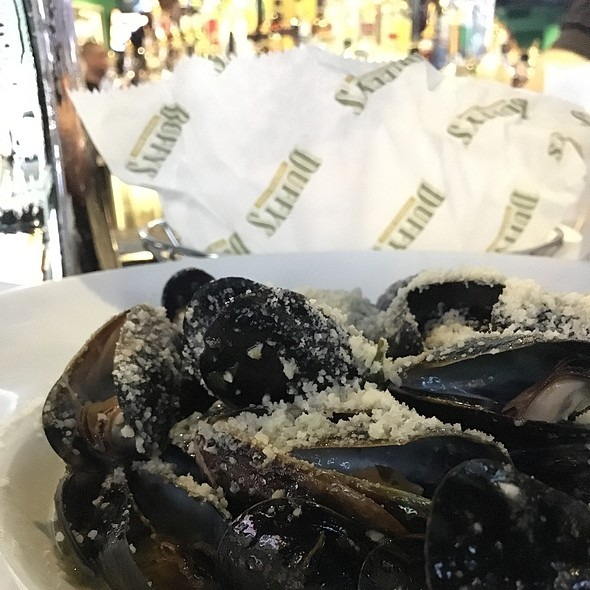 Prince Albert Mussels @ Duffy's Sports Grill Coconut Grove