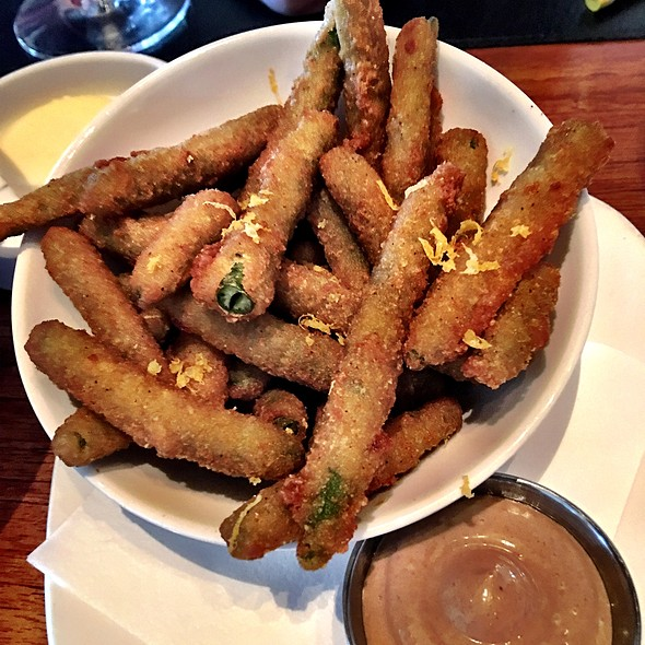 Fried Green Beans @ Avalon Bar And Grill