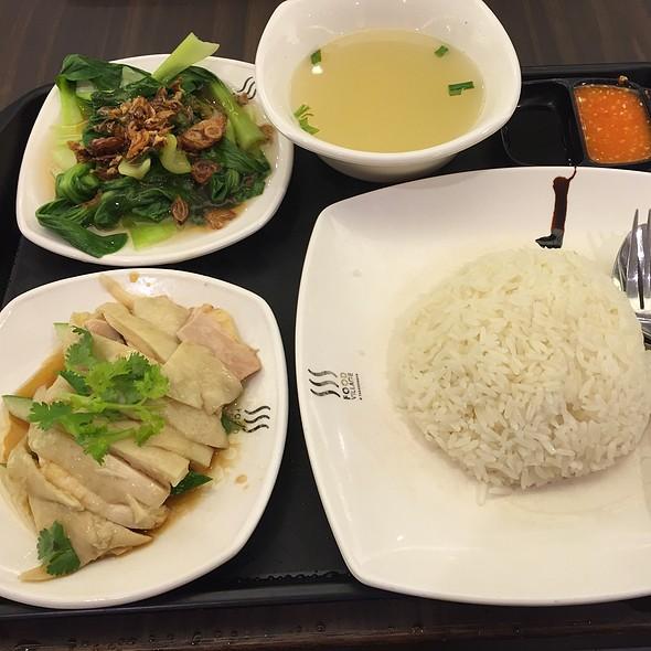Chicken Rice Set @ Food Village (Takashimaya Foodcourt)