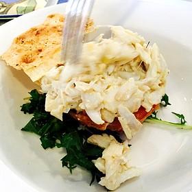 Crabmeat Ravigote Action Shot