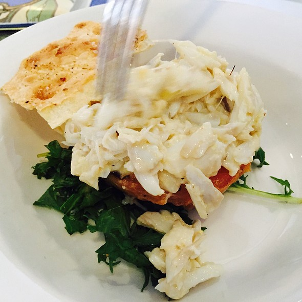 Crabmeat Ravigote Action Shot - Tableau, New Orleans, LA