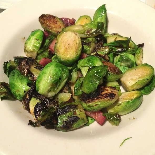 Roasted Brussels Sprouts With Bacon - Bob's Steak and Chop House - Omni Tucson National Resort, Tucson, AZ