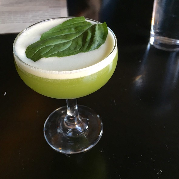 Thai Basil Cocktail @ Talde