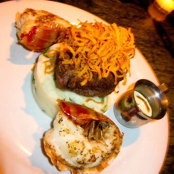 Surf And Turf - Tantra Restaurant & Lounge, Miami Beach, FL