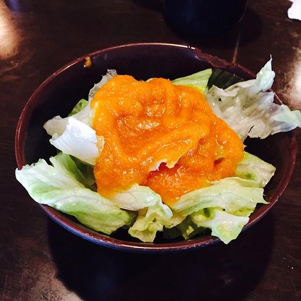 Fresh Ginger Salad @ Sushi Village