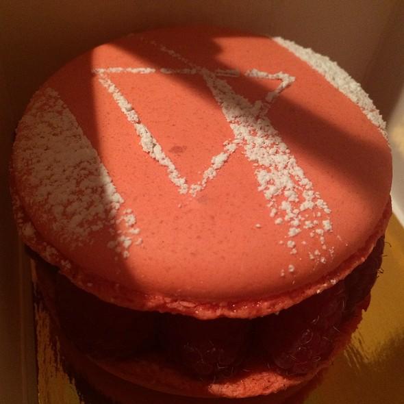 Raspberry French Macaron Tart