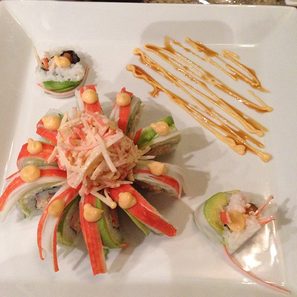 Passion Roll @ Zen Seafood & Sushi Grill