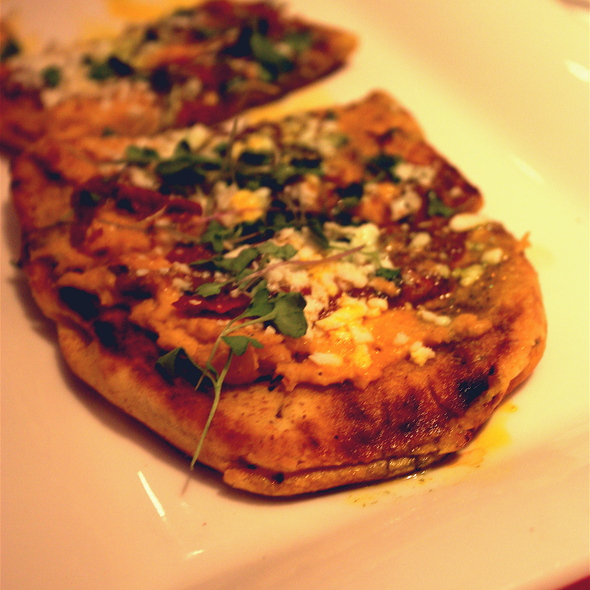 Grilled Flatbread - Rio Grill, Carmel, CA