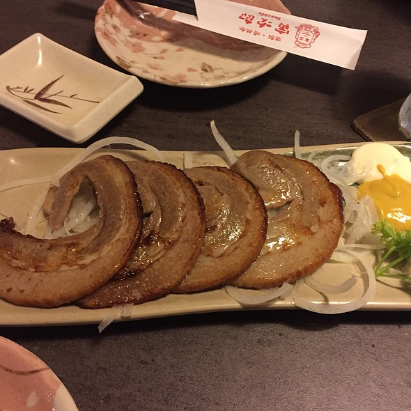 หมูเค็มทอด | Fried Salted Pork @ Torajiro