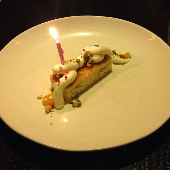 Birthday cake @ AGGIO Baltimore