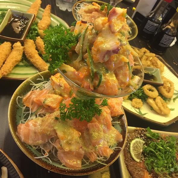 Ceviche Salmão @ Shinkai Sushi