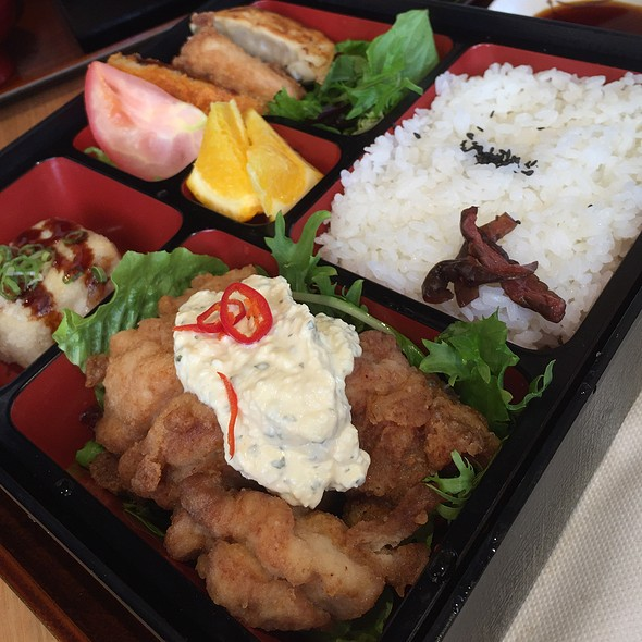 Chicken Namban Bento Box @ Makoto Sushi Bar