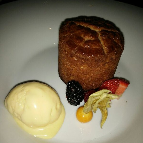 Hazelnut Basque Cake - Divino Wine & Cheese Bistro, Calgary, AB