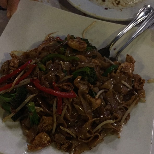 Thai Basil Noodles @ Merlion Marketplace