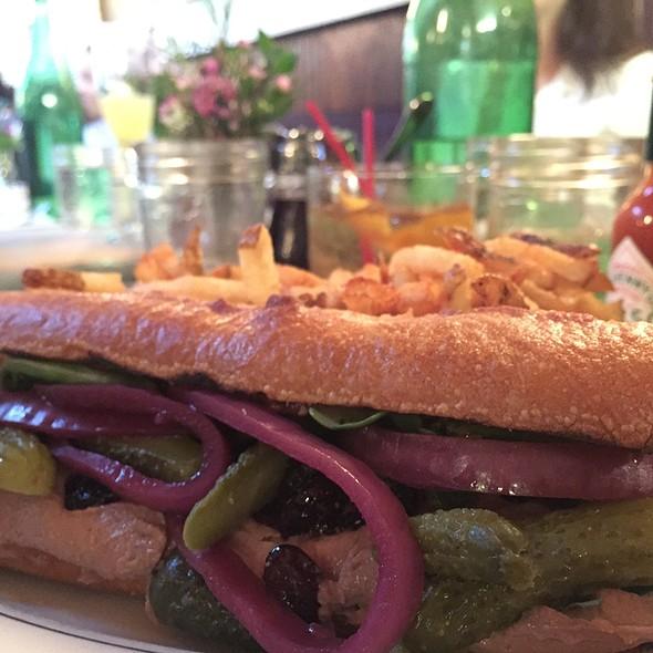 duck pate sandwich @ Le Barricou