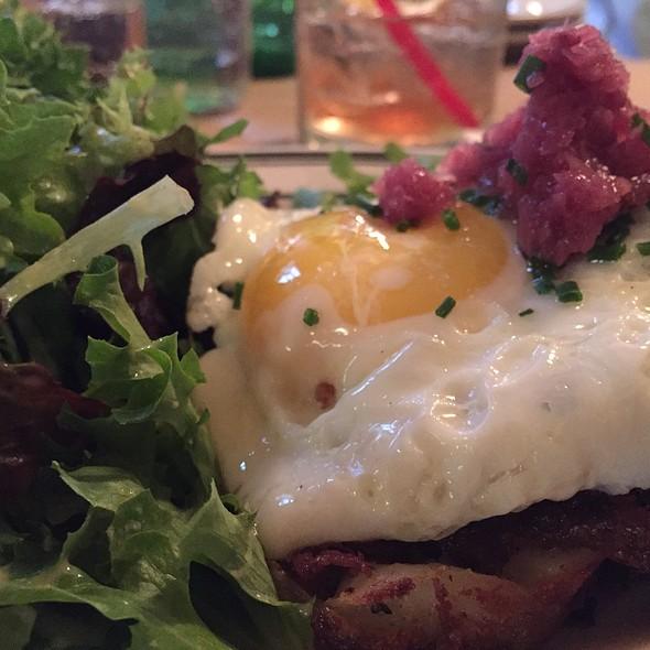 Duck Confit Hash With Eggs @ Le Barricou