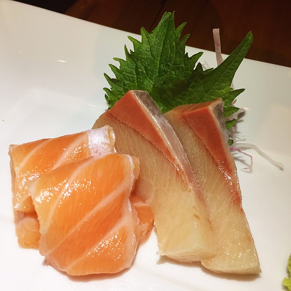 Hamachi And Salmon Sashimi