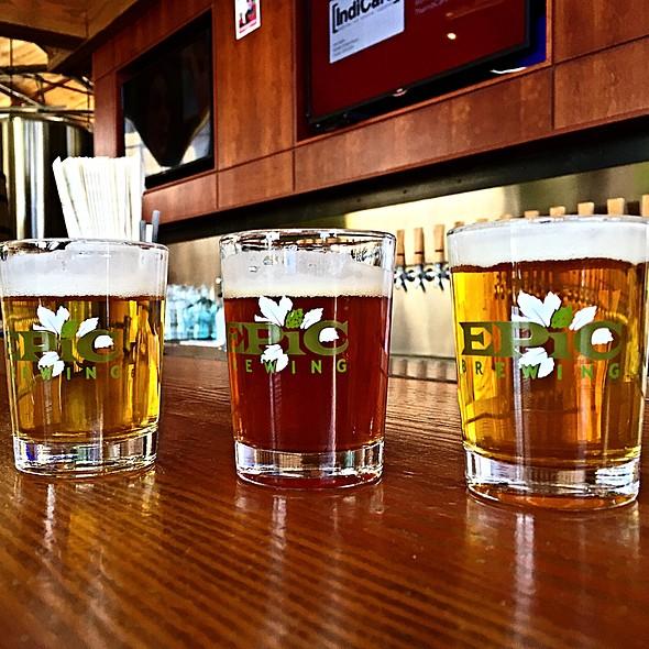 Craft Beer Sampler @ Epic Brewing Denver