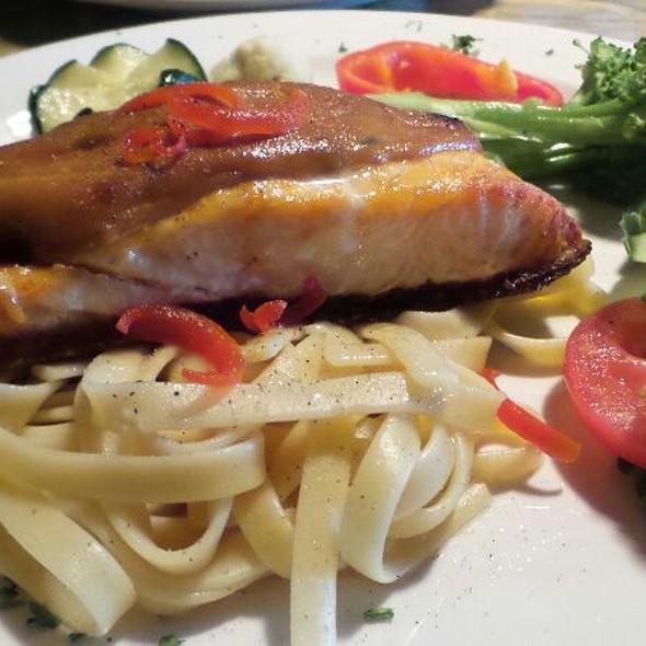 Maple Dijon Salmon  - Accent European Lounge, Edmonton, AB