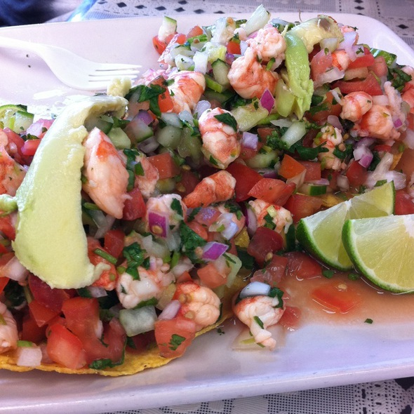 Mixed Seafood Ceviche @ La Playita