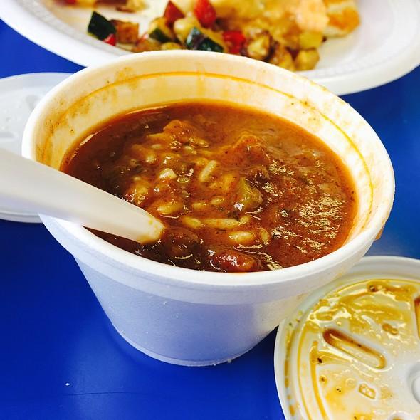 Cup Of Seafood Gumbo @ Emile Louis Desporte