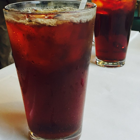 Iced Cold Brewed Tea @ Al-Noor
