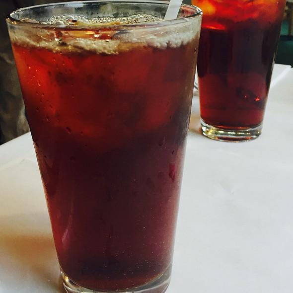 Iced Cold Brewed Tea @ Al-Noor