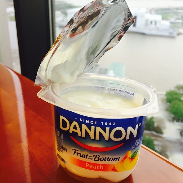 Dannon Light & Fit Nonfat Yogurt Peach @ Renaissance Riverview Plaza