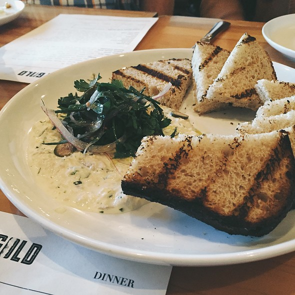 Smoked Trout Spread @ Gold Cash Gold