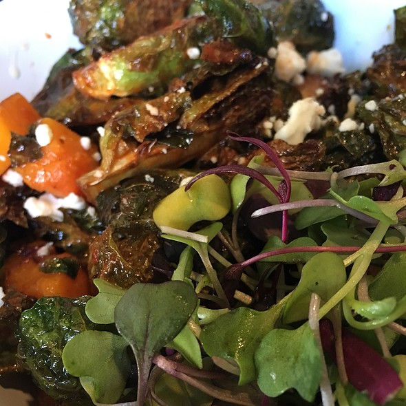 Brussels Sprouts @ Bareburger