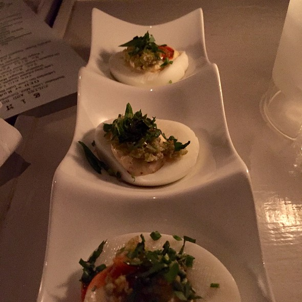 Deviled Eggs @ The Violet Hour