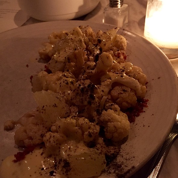 Cauliflower @ Lula Cafe