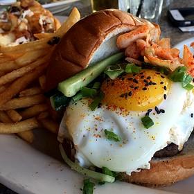 Kim Chee Burger - Ryan's Grill, Honolulu, HI