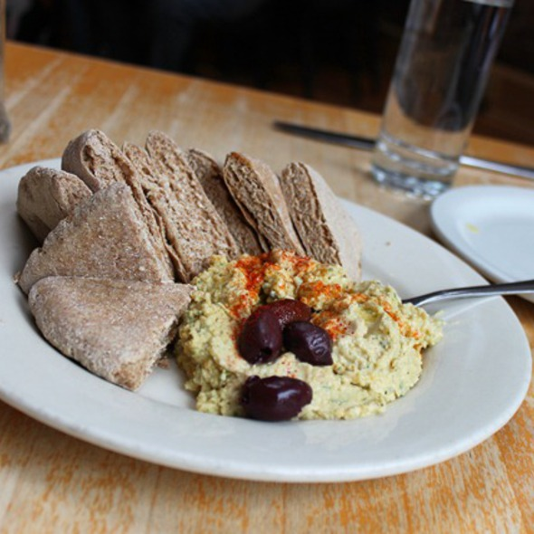 Hummus @ blue bird bistro