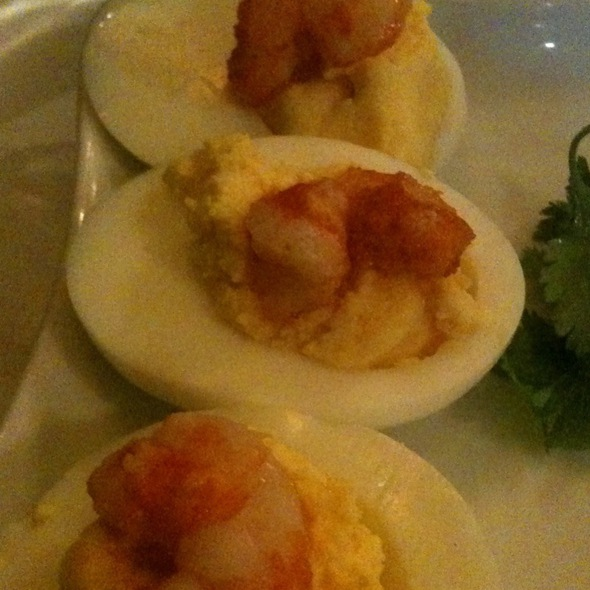 Spicy Cameron Deviled Eggs
