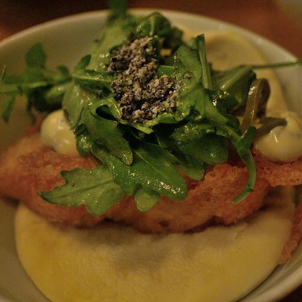 fried cod bao @ Yusho