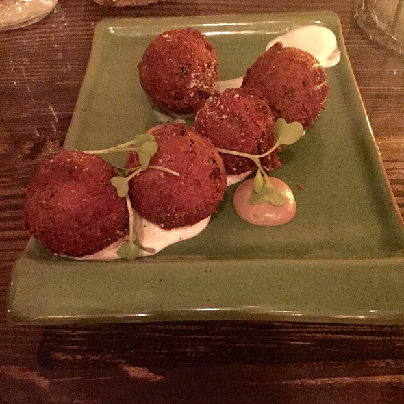 Black Truffle Hush Puppies