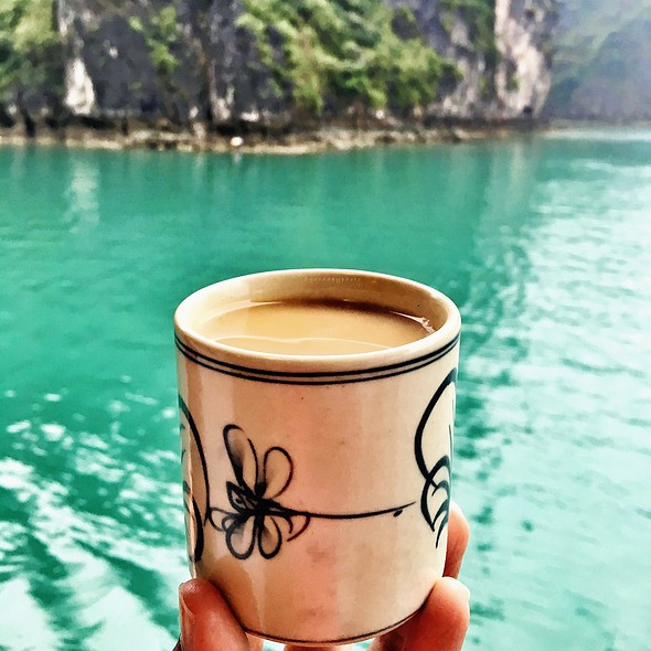 Coffee @ Ha Long Bay, Vietnam