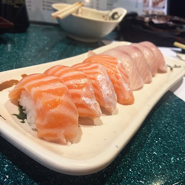 Salmon Belly @ Sushi Mon