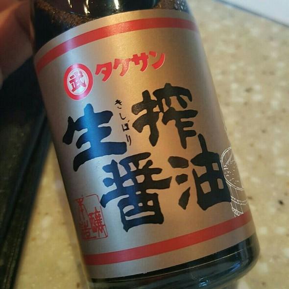 Kishibori Shoyu @ Tomo Japanese Restaurant
