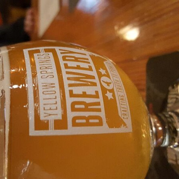 Captain Stardust Saison @ Yellow Springs Brewery