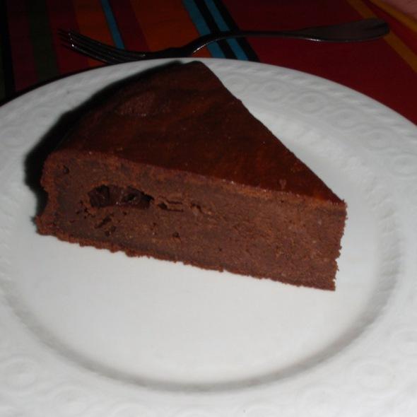 Chocolate Cake @ The Wall House