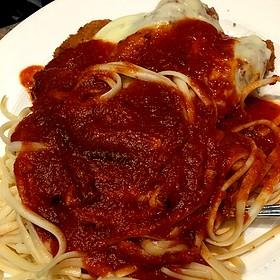 Chicken Parmesan - Adelphia Restaurant, Deptford, NJ