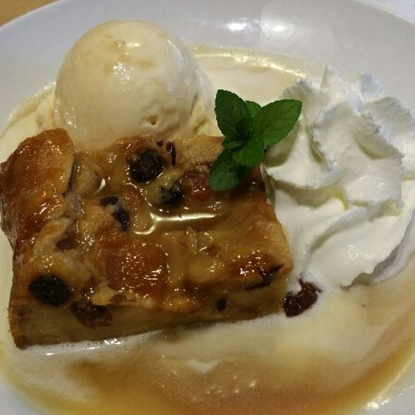 Bourbon Street Bread Pudding - Brentwood Restaurant & Wine Bistro, Little River, SC