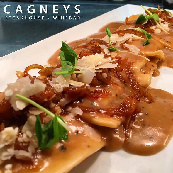 Chianti Braised Beef Ravioli - Cagneys, Mississauga, ON
