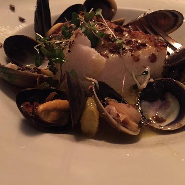 Halibut In Seafood Broth - TerraSole Ristorante, Ridgefield, CT