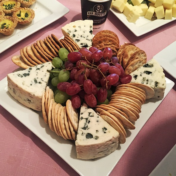 Cheese & Fruit Plate @ Olive Orange Catering