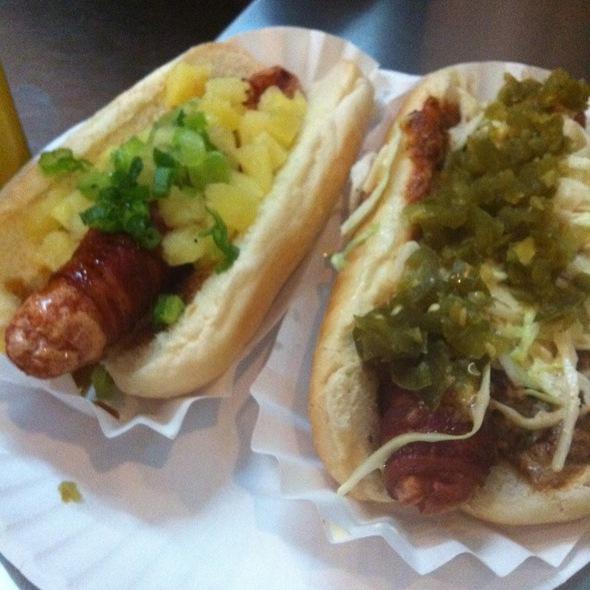Spicy Redneck Hot Dog @ Crif Dogs