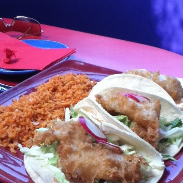 Baja Fish Taco @ Lula's Cocina Mexicana