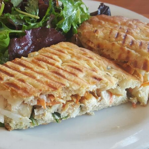 Korean Style Bbq Chicken Panini @ The Plant